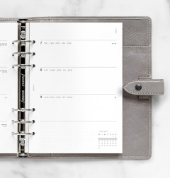 Minimal Week to View Diary - A5