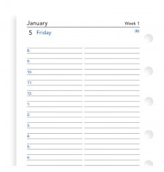 One Day On A Page Diary With Appointments Pocket 2020
