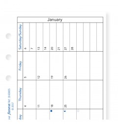 Month On One Page Diary with Notes Personal 2020