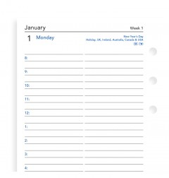 One Day On A Page Diary With Appointments Personal 2020
