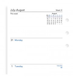 Week On Two Pages Academic Diary Personal 2019-2020