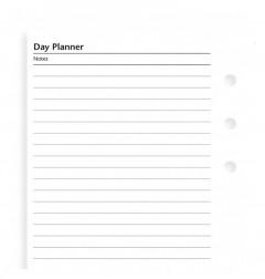 Undated Day Planner, Personal