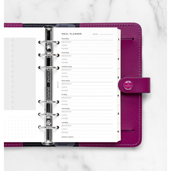 Meal Planner Refill - Personal