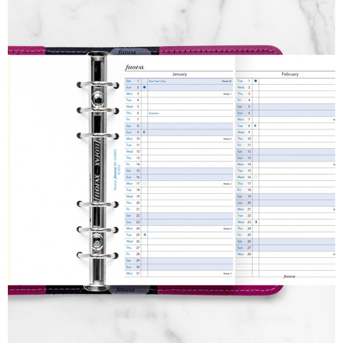 Vertical Year Planner Personal