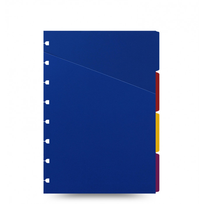 Filofax Notebook Bright Coloured Indices