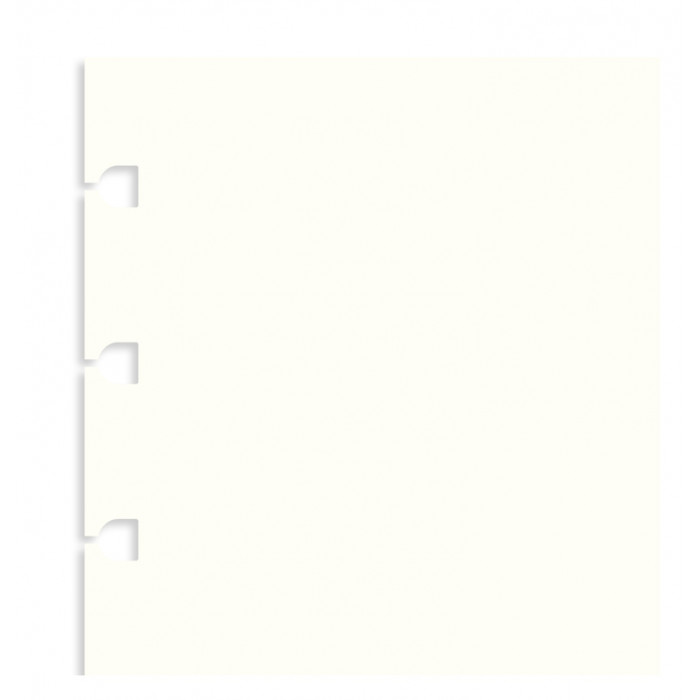 Filofax Notebook Plain Paper Refill