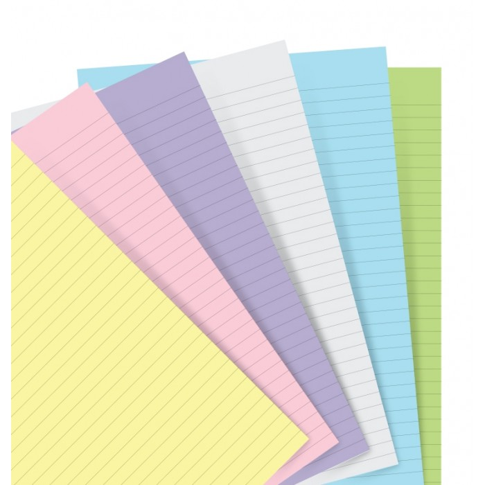 Pastel Ruled Notepaper Personal Refill