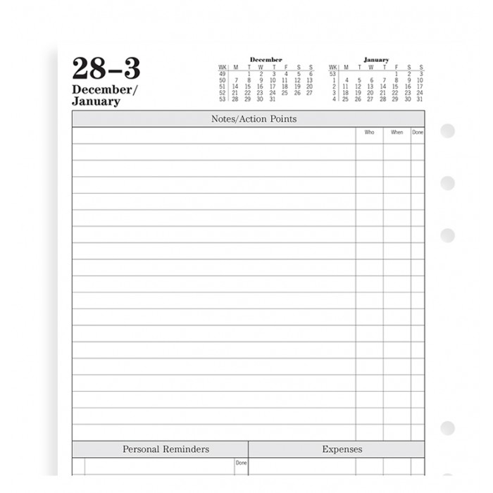 Time Management Week To View Diary A5