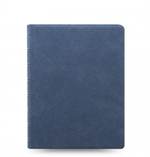 Filofax Notebook Architexture A5 Blue Suede