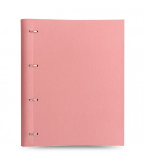 Clipbook Classic Pastels A4 Notebook Rose