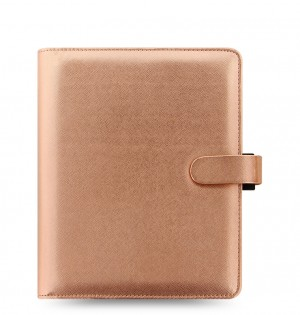 Saffiano Metallic A5 Organizer Rose Gold 2019