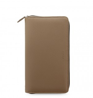 Saffiano Personal Compact Zip Organiser