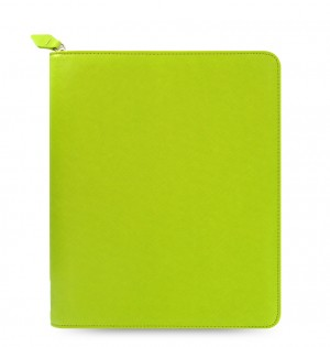 Saffiano Zip Large Tablet Cover Pear
