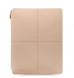 Classic Stitch Soft A4 Zip Writing Folio