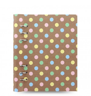 Clipbook Patterns A5 Notebook