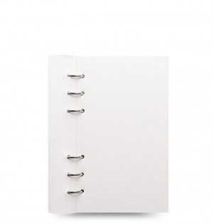 Clipbook Classic Personal Notebook White