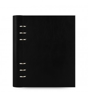 Clipbook Classic A5 Notebook Black