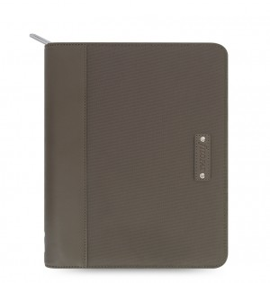 Microfiber Zip iPad Air Tablet Case Khaki