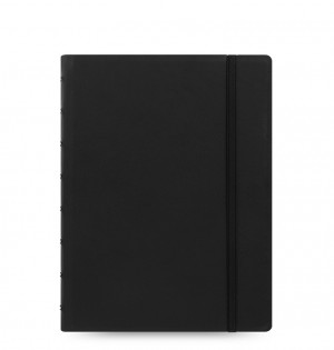 Filofax Dotted Paper Notebook - Classic A5 Black