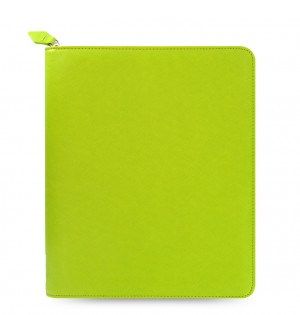 Saffiano Zip iPad 2/3/4 Tablet Case Pear