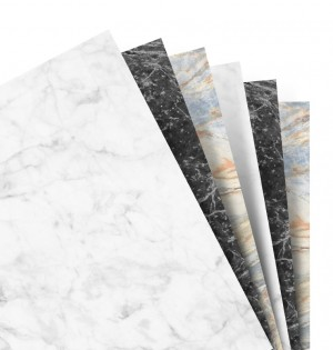Marble Plain Notepaper Personal Refill