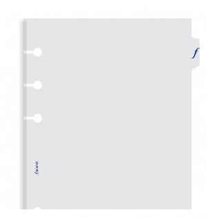 Transparent Flyleaf With Tab