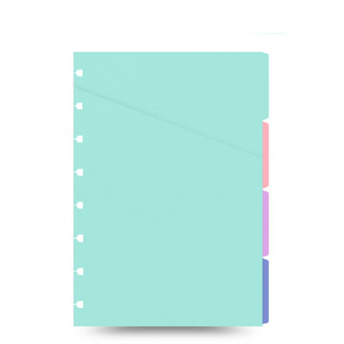 Filofax Notebooks - Intercalaires colorés - A4
