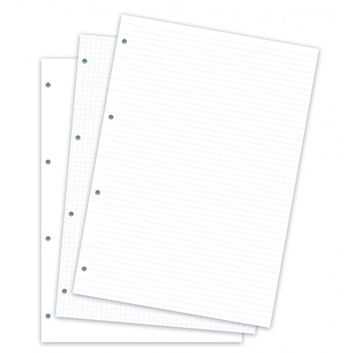 Feuilles de notes assorties - Clipbook - A4