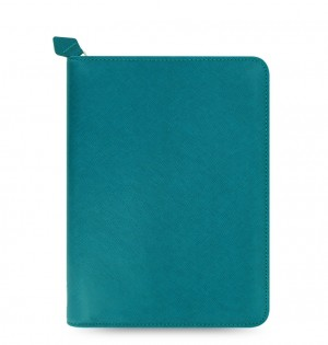 Saffiano Zip Small Tablet Cover Aquamarine