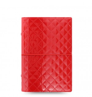 Organiseur Domino Luxe - Personal - Rouge 2020