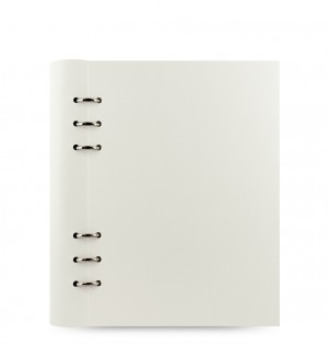 Clipbook Classic A5 Notebook White