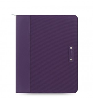 Microfiber Zip iPad 2/3/4 Tablet Case