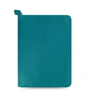 Saffiano Zip iPad Mini, 2 & 3 Tablet Case Aquamarine