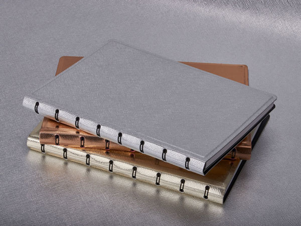 Filofax Notebook Metallic Collection